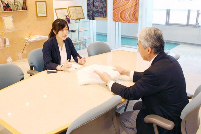 藤高の藤高社長とお話させていただきました